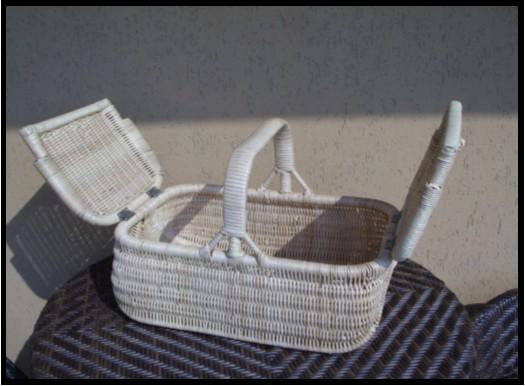 Topfurnishing 2 x Quercia Naturale Coperchio di Vimini Cesta Portaoggetti Scatola Giocattoli Vuoto Natale Cestino Cesto Fodera Set da 2 Piccolo 30x20x11.5 cm, Quercia