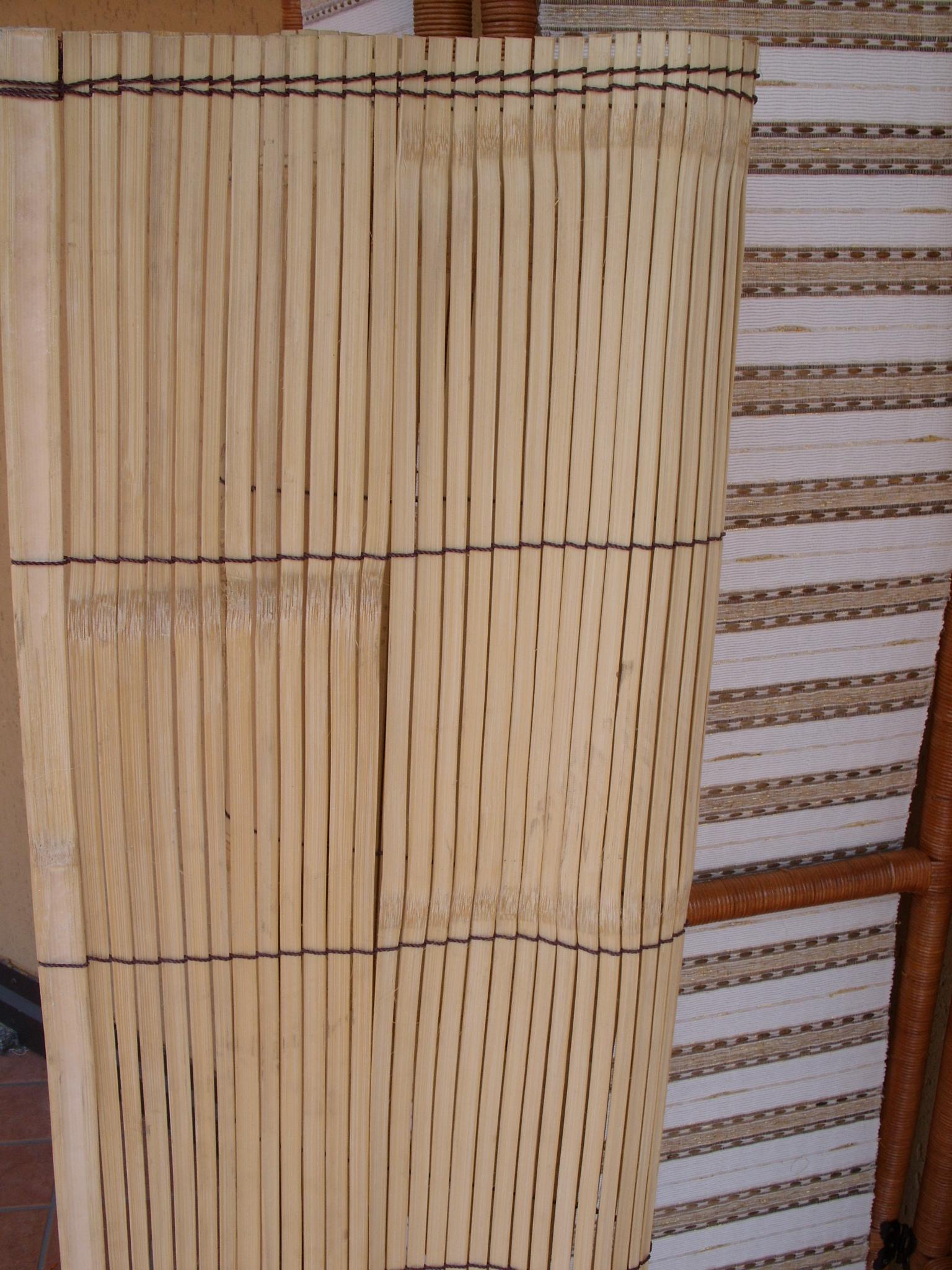 Luci Per Tettoia In Legno stuoia bamboo recinzione tettoia giardino pergolato staccionata paravento  separe' per gazebo esterno interno varie misure